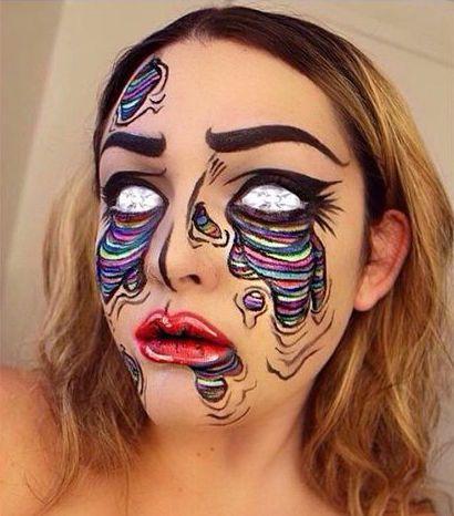 Pop Art Zombie Kostum Selber Machen Nola Ideas Pinterest