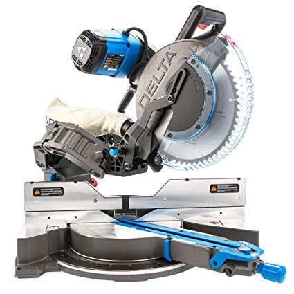 Delta 26 2250 12 Quot Dual Bevel Sliding Cruzer Miter Saw With Images Mitre Saw Stand Diy Table Saw Sliding Mitre Saw