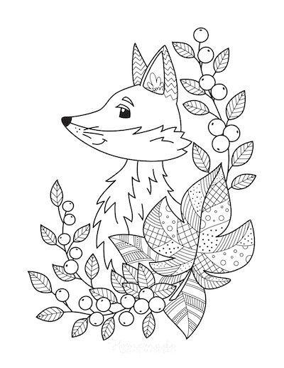 81 Best Autumn Fall Coloring Pages Free Pdf Printables For Kids Ausmalbilder Ausmalen Herbstdeko