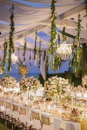 15 Glamorous Wedding Tablescapes - Belle The Magazine  Luxury Wedding Tablescape...#belle #glamorous #luxury #magazine #tablescape #tablescapes #wedding
