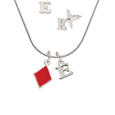 Jewels By Lux 10K Yellow Gold Initial E Charm