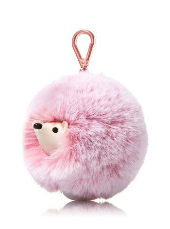 Pink Hedgehog Pom Pom Pocketbac Holder Bath And Body Works