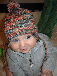 d9070416902 Ravelry  BABEE CHULLO Baby Earflap Hat pattern by Bobbi Padgett ...