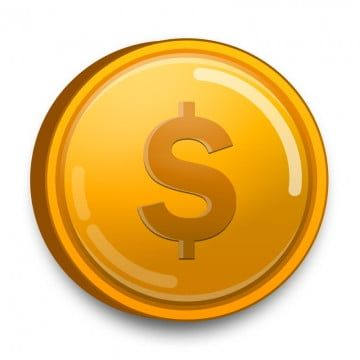 Dollar Gold Coin Png Gold Clipart 3d Coin Dollar Png Png Transparent Clipart Image And Psd File For Free Download Gold Clipart Coin Icon Gold Coins