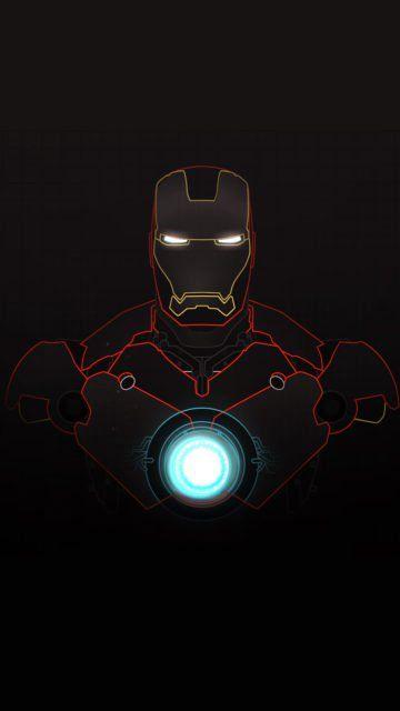 Iphone Iron Man Line Wallpaper Yellow Red Blue Iron Man Art Marvel Comics Wallpaper Avengers Wallpaper