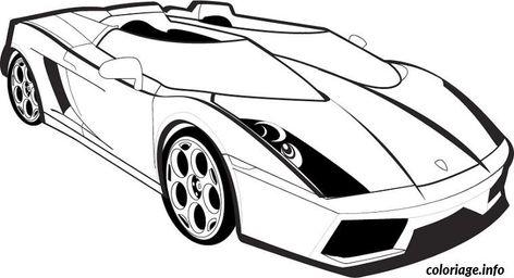 Coloriage Voiture Lamborghini Dessin A Imprimer Coloriage