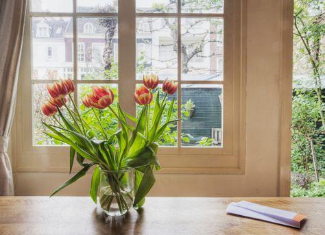 Fresh flowers #goodluck #decortips