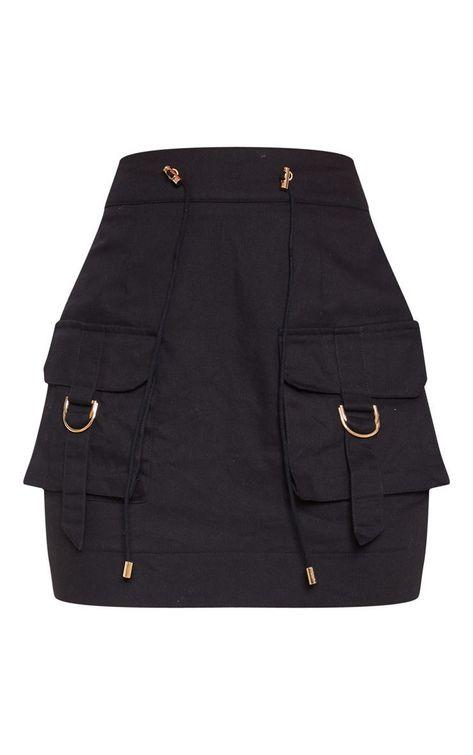 Bright Blue Cargo Pocket Detail Mini Skirt Bright Blue Cargo Pocket Detail Mini Skirt – New In This Week –