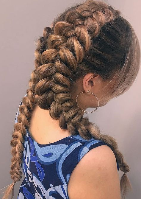 25 Cool Pigtails Hairstyles  From Dutch And French Braid Pigtails - hairstyles for school pigtail hairstyles for school  half up half down | hairstyles for school  summer | crazy hairstyles for school | hairstyles for school  french twists | hairstyles for school  pony tails #hairstyles #school #pigtail #hairstylesforschool #crazy hairstyles for school #cute Braids pigtails #cute Braids pigtails # pigtail Braids african american
