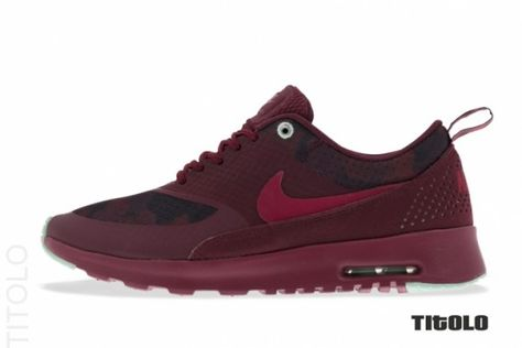 Nike WMNS Air Max Thea Cherrywood Noble Red Arctic