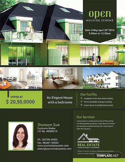 Real Estate Open House Flyer Template Free Jpg Illustrator Word Apple Pages Psd Publisher Template Net Open House Real Estate Real Estate Flyer Template Flyer Template