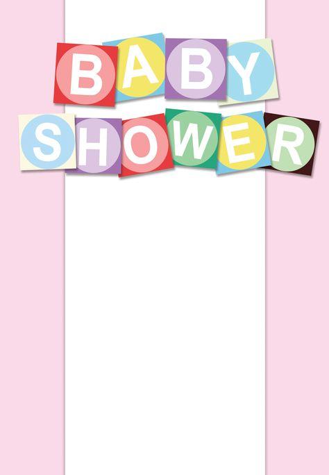 Free #Printable #Baby #Shower Invitation