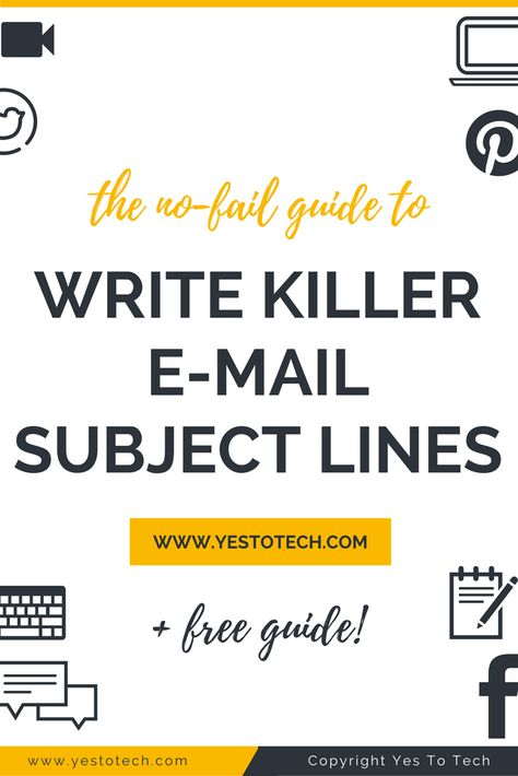 The No-Fail Guide To Write The Best Email Subject Lines With Examples
