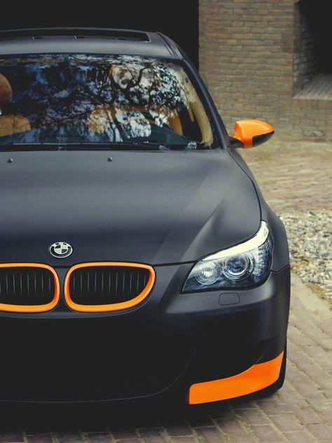 BMW black and orange matte                                                                                                                                                     Plus