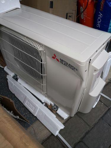 Central Air Conditioners 185108 Mitsubishi Mini Split Air Conditioner 9k 12k Buy It Now Only 38 Air Conditioner Heat Pump System Central Air Conditioners