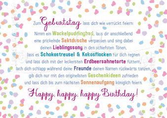 Zum Geburtstag - Doppelkarten - Grafik Werkstatt Bielefeld