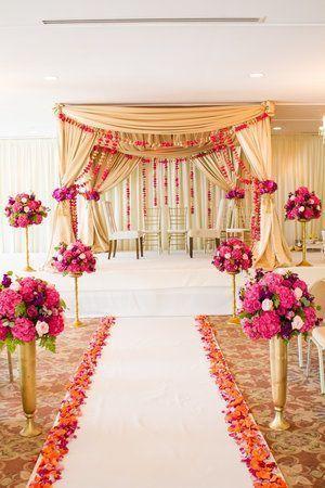 Carriage House Wedding Indian Wedding Indian Ceremony Pink Wedding Flowers Indian Wedding Decorations Wedding Ceremony Decorations Pink Wedding Flowers