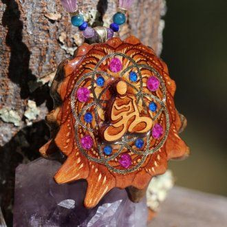 Third Eye Pinecone Necklace April 2017