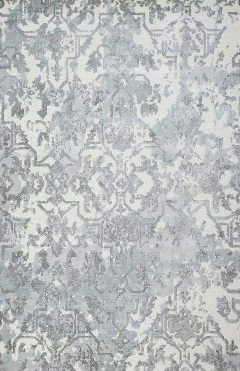 Jaunty Fusion Fu 77 Fog Area Rug Is Hand Woven In With Yarn Made Of Wool Viscose Strands That Add Luster And Durability This M Rugs Area Rugs Room Size Rugs