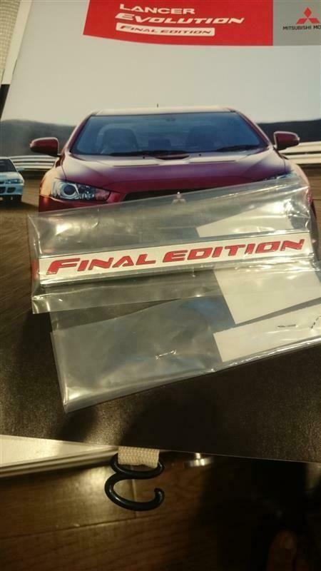 Sponsored eBay) JDM OEM Mitsubishi LANCER EVOLUTION 10 Final Edition