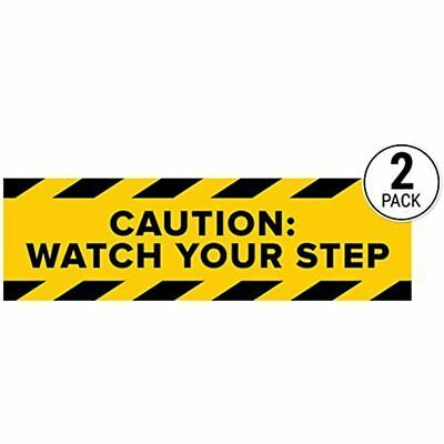 Ebay Ad Link Caution Watch Your Step Sticker Signs Pack Of 2 Workplace Safety Wet Floor In 2020 Workplace Safety Sticker Sign Business Signs