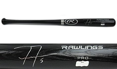 later latest los angeles Freddie Freeman Signed Baseball Bat Official Rawlings Pro ...