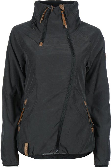 Naketano Forrester II Black Jacket Womens Jacke Girls Damen
