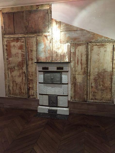 Cheminee Prussienne Deco Poele Renovation Et Deco