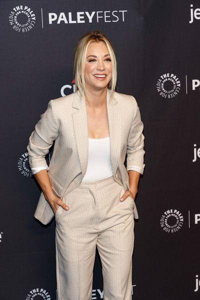Kaley Cuoco attends the 2018 PaleyFest Los Angeles - CBS's 'The Big Bang Theory' and 'Young Sheldon.'