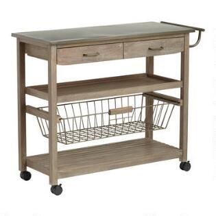 Pin By Katie Logan On Woodworking Projects Kitchen Cart Wood And Steel Kitchen Furniture Design