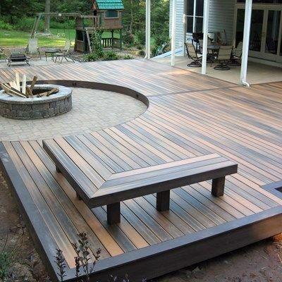 Top 60 Best Backyard Deck Ideas Wood And Composite Decking Designs Backyard Fire Deck Designs Backyard Fire Pit Backyard