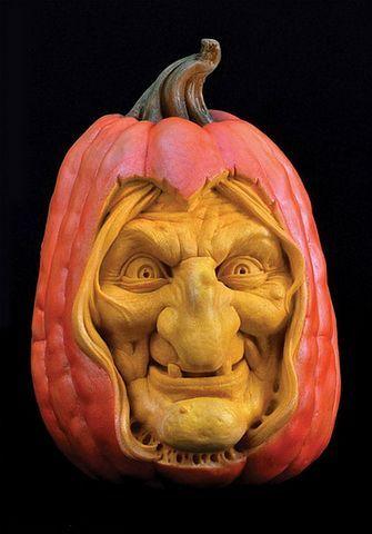 Sculpted Pumpkin Halloween Halloween Porch Pumpkin Images