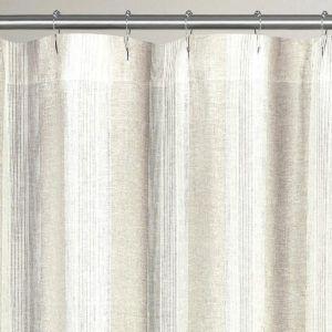 Organic Hemp Shower Curtain Liner Shower Curtain Curtains