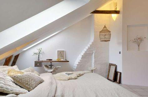 Arredare la camera da letto in mansarda - Camera da letto in ...