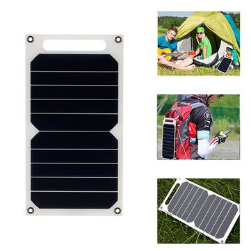Leory 5v 10w Diy Portable Solar Panel Camping Slim Light Usb Charging Power Bank Pad Universal In 2020 Portable Solar Panels Solar Panels Powerbank