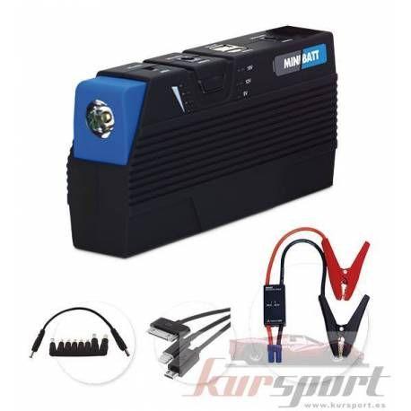 miniBatt PRO Arrancador y cargador de bater/ía