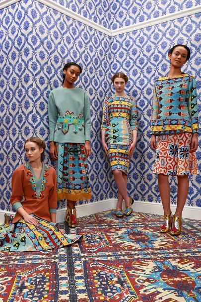 See all the Collection photos from Tata Naka Autumn/Winter 2014 Ready-To-Wear now on British Vogue