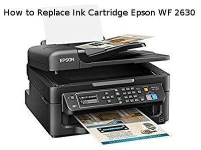 How To Replace Ink Cartridge Epson Wf 2630 Mobile Print Vinyl Printer Wireless Printer