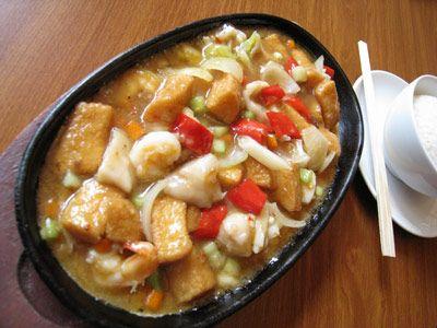 Hot Plate Tahu Resep Masakan Resep Jamur Jamur