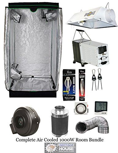 Sun System Complete 4x4 Grow Tent 1000w Hps Mh Yield Master Ac Combo Package Kit For More Information Visit Image Link Th Hydroponics Grow Tent Cool Stuff