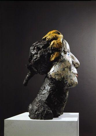 kopf des mozart von markus lupertz skulpturen kunstwerke moderne acrylbilder malen deko skulptur abstrakt