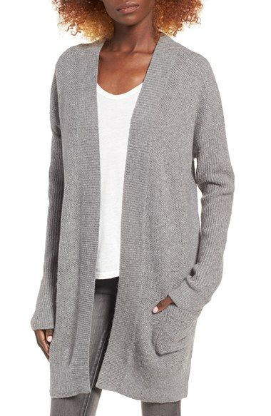 Free shipping and returns on BP. Tuck Stitch Cardigan at Nordstrom.com. Intricate tuck stitching adds cozy dimension to a cotton-blend cardigan designed with dropped shoulders and an open front for throw-on-and-go ease. Low-slung patch pockets keep hands warm while enhancing the laid-back vibe.