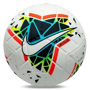 Nike Merlin 19 20 Match Soccer Ball White Blue Fury Obsidian Soccerevolution In 2020 Soccer Ball World Soccer Shop Football Ball