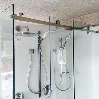 10mm Frameless Opto Sliding Shower Screen 1500 X 900mm In 2020 Shower Screen Sliding Shower Door Sliding Shower Screens