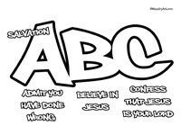 picture regarding Abc of Salvation Printable titled Christian Acronym Printables courses Abc of salvation