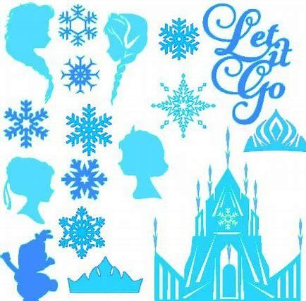 Image Result For Free Svg Files Disney Frozen Frozen Cricut Frozen Silhouette Frozen Ornaments