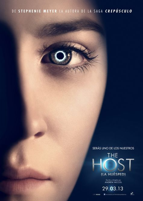 The Host By Stephenie Meyers Definitely A Thought Provoking Novel The Story Is Full Of Passion Peliculas De Adolecentes Peliculas Que Debes Ver Promo Flyer