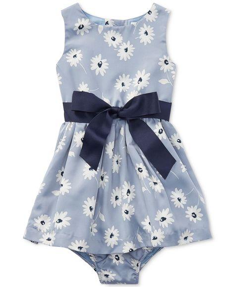 b3bf4c0eda87c Ralph Lauren Floral-Print Dress