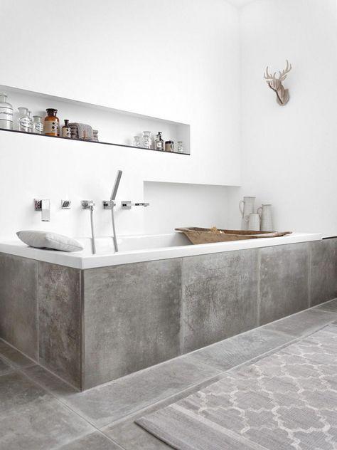 Minimalist Modern Bathroom #modernsmallbathroomdesigns #modernbathroomdesign