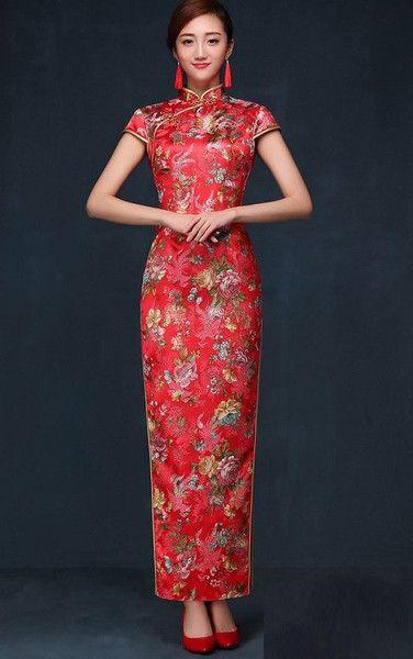 d3aa128c8 265 best Wedding Qipao / Cheongsam Bridal Kwa Qun Couture Evening Dress  images on Pinterest